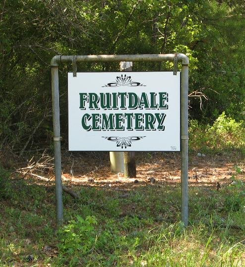 Fruitdale cemetery